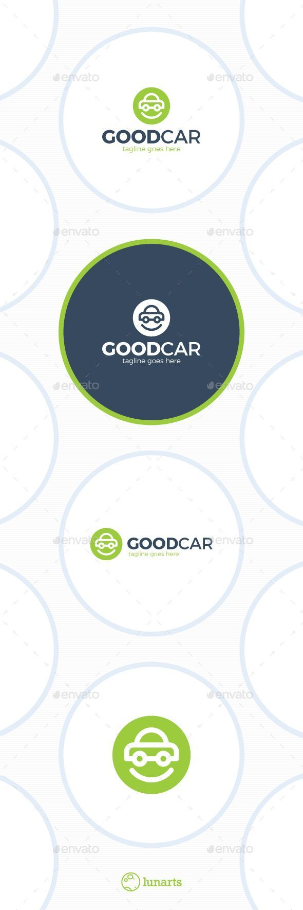 Smile Car Logo - Good Auto. Template Vector EPS, AI. Download here: http://graphicriver.net/item/smile-car-logo-good-auto/13346138?ref=ksioks