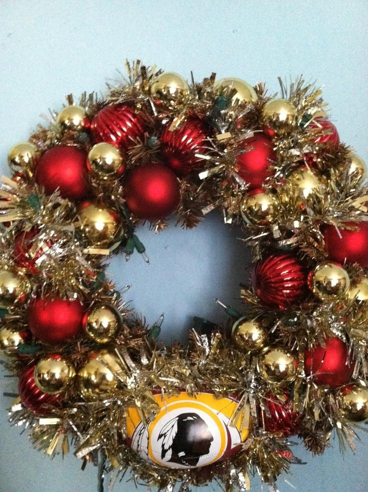 NFL Redskins Custom Wreath