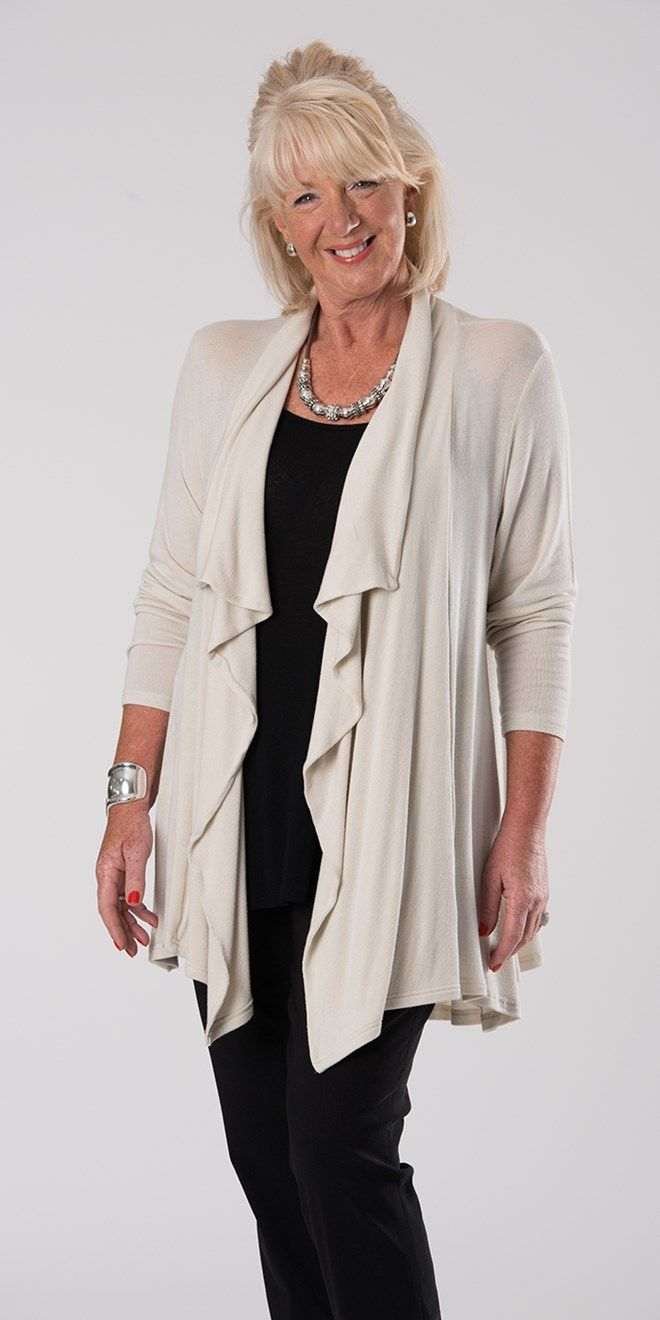 Join Clothes cream loose knitted jacket at Box 2