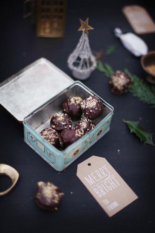 Fräulein Klein : Weihnachtsgeschenke aus der Küche --- Spekulatius-Trüffel