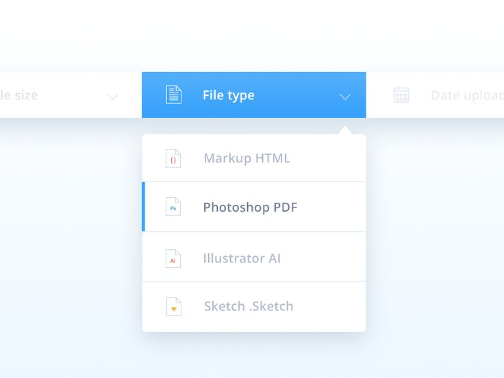 Dropdown UI Inspiration — Muzli -Design Inspiration — Medium #Dropdown