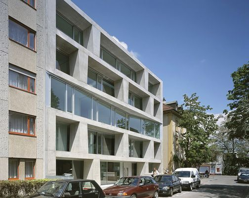 37 best architecture residential complexes block of flats images on pinterest contemporary - Gmur architekten ...