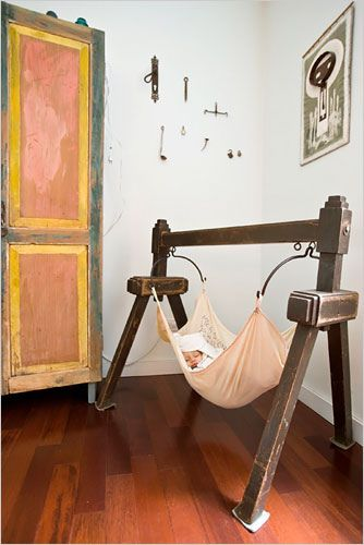 Obsessed- baby hammock