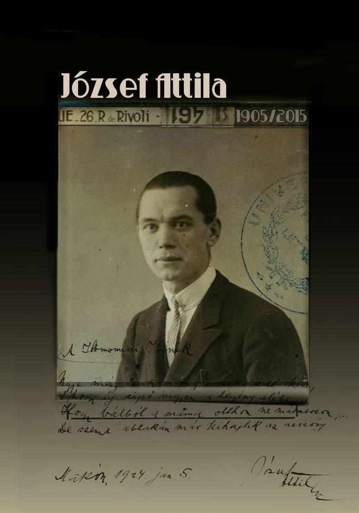 Jozsef Attila 70x100cm