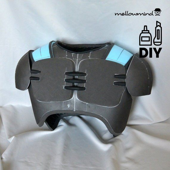 Diy Doom Guy Armor Template For Eva Foam Foam Costume Diy Foam