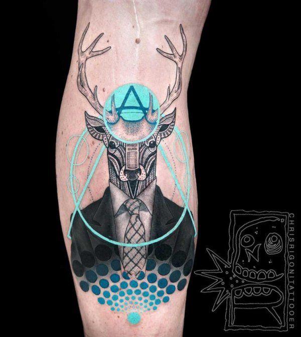 Ультраяркие татуировки, удивляющие не только своими идеями, но и исполнением