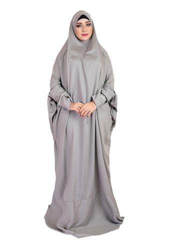 aa7113db8 Prayer Dress in 2019   Dress   Hijab fashion, Hijab outfit, Muslim dress