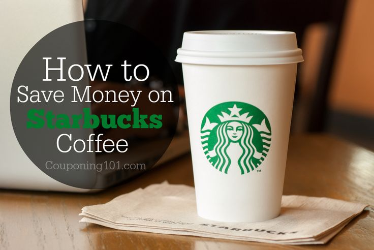 Awesome tips for saving money at Starbucks!! Because we all know we could use this after the holidays.