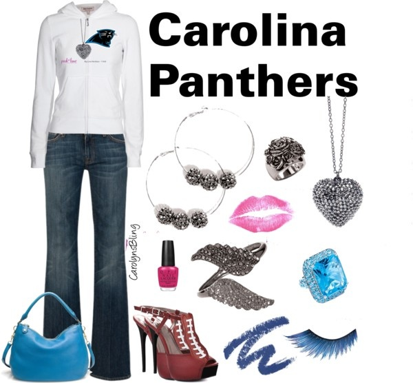 """""""Carolina Panthers"""" by carolynsbling on Polyvore"""