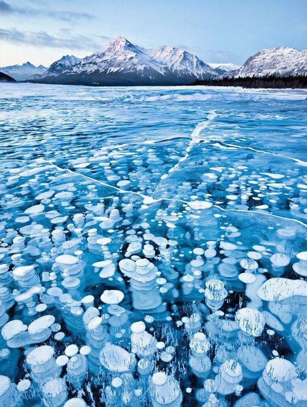 Les destinations les plus spectaculaires du monde - Lac Abraham - Canada