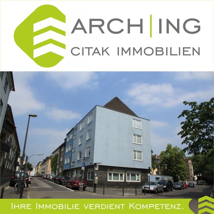 3 Zimmer Eigentumswohnung geeignet fürs Arbeiten und Wohnen mit Küche, Diele, Bad in Köln-Deutz.