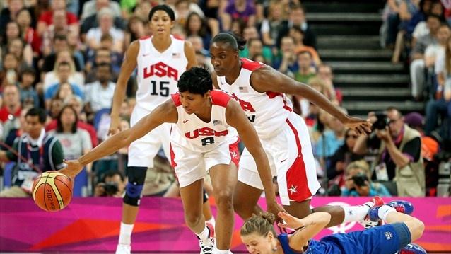 High five as USA women take title - London 2012 Olympics