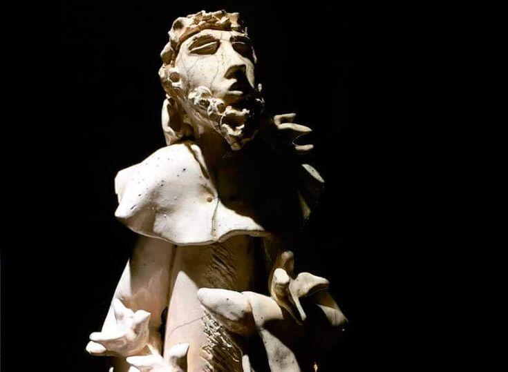 São Francisco de Assis em cerâmica