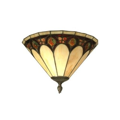 Dale Tiffany TW11154 Crystal Jeweled Pebble Stone Wall Sconce, Antique Bronze