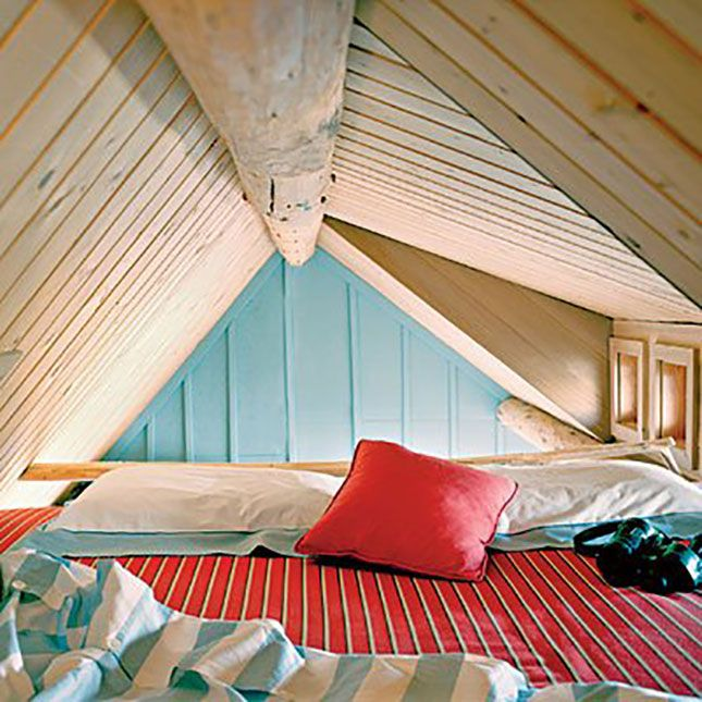 The 18 Most Beautiful Lofts You've Ever Seen via Brit + Co. LOVE THE GIANT BED OF COMFINESS
