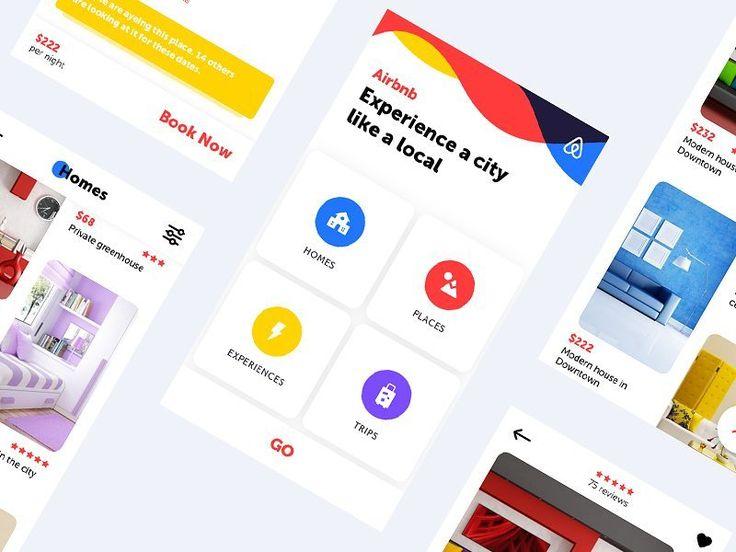 Airbnb - #redesign by George Vasyagin for Awesomed  http://bit.ly/2r6zBDY  #design #workspace #uzersco #ui #ux #inspiration #web #dribbble #behance #website #brand #www #uidesign #uxdesign #webdesign #designer #graphicdesign #entrepreneur #psd #template #photoshop #colors #adobe #hustler #concept #design #app #dashboard #landingpage #interior