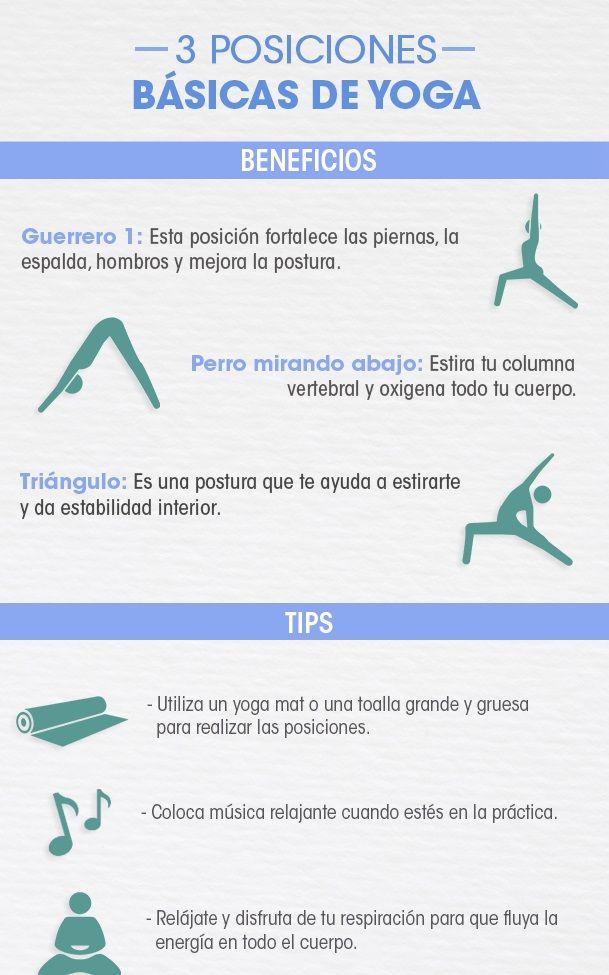 Ejercicios de Yoga para relajarte.