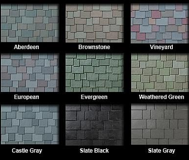 Best Slate Multi Width Synthetic Roof Tiles Select Color 30 400 x 300