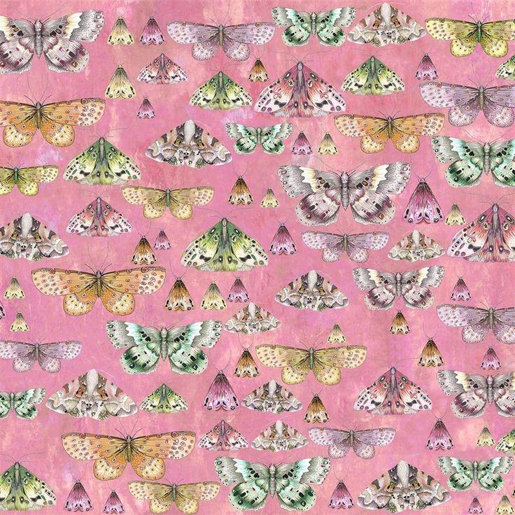 Charonda Rose Fabric | Designers Guild