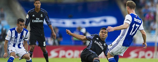 Real Madrid have been served a boost ahead of their Clasico in over a weeks time after Casemiro returned to  Source