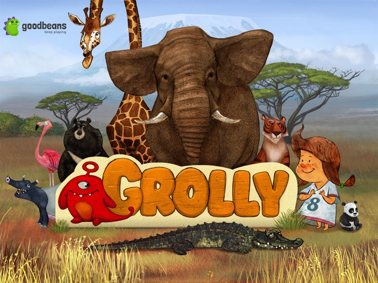 Grolly's Animal Adventure is a great iPad app that teaches children about animals and their habitats. It is spectacularly beautiful! Read this review about it.