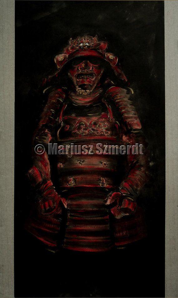 Samurai Rüstung Samurai asiatische Dekor Kunst mens von SamuraiArt