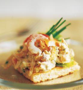 Krabb- och räktoast - Norrmejerier