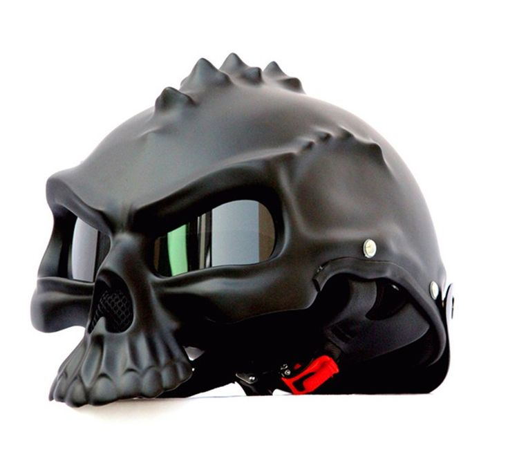 masei 489 Newest Dual Use Skull Motorcycle Helmet Capacetes Casco Novelty Retro Casque Motorbike Half Face Helmet free shipping 92% of buyers enjoyed this product!38 orders List price: US $155.75 Price: US $77.88 & FREE Shipping You save: US $77.87 (50%) Shipping: Free