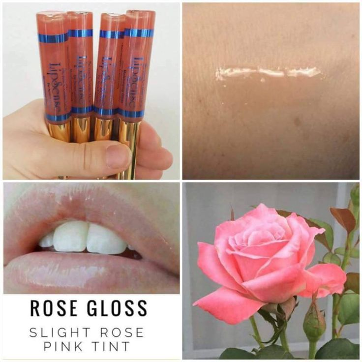"""Rose gloss has a pretty slight pink tint and will complement any LipSense color.  It's also great to use alone and will heal chapped lips with it's Shea Butter and Vitamin E.  **If you can't find it on the website go to www.FB.com/TanyasLipService and check the """"In-Stock"""" album. It's probably available there!"""