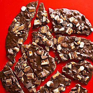 Dark Chocolate Candy Bark From Better Homes and Gardens, ideas and improvement projects for your home and garden plus recipes and entertaining ideas.