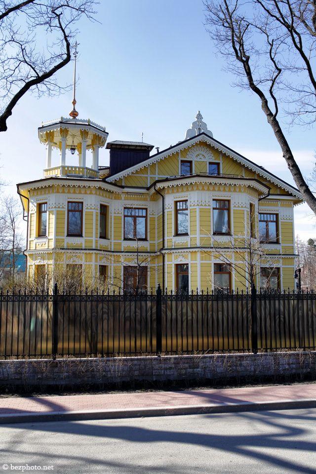 bezphoto: Mansion of Melnikov in St. Petersburg. Art nouveau...