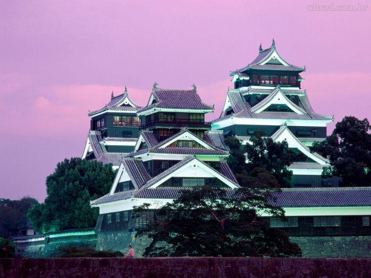 Resultado de imagem para castelo de kumamoto-japão