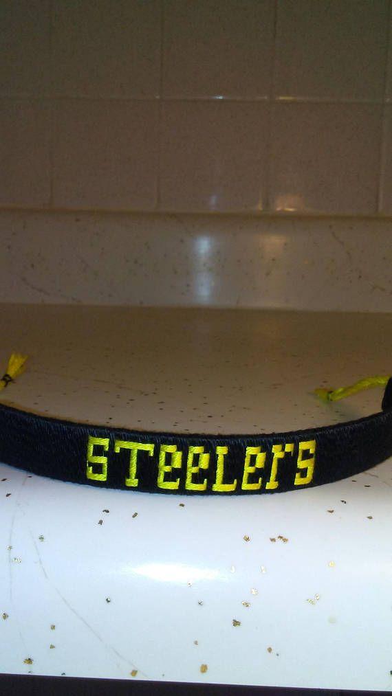 STEELERS FOOTBALL BRACELET handmade for men/woman and children best gift to offer