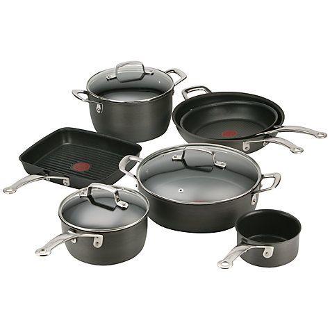 Buy Tefal Jamie Oliver Hard Anodised Cookware Online at johnlewis.com
