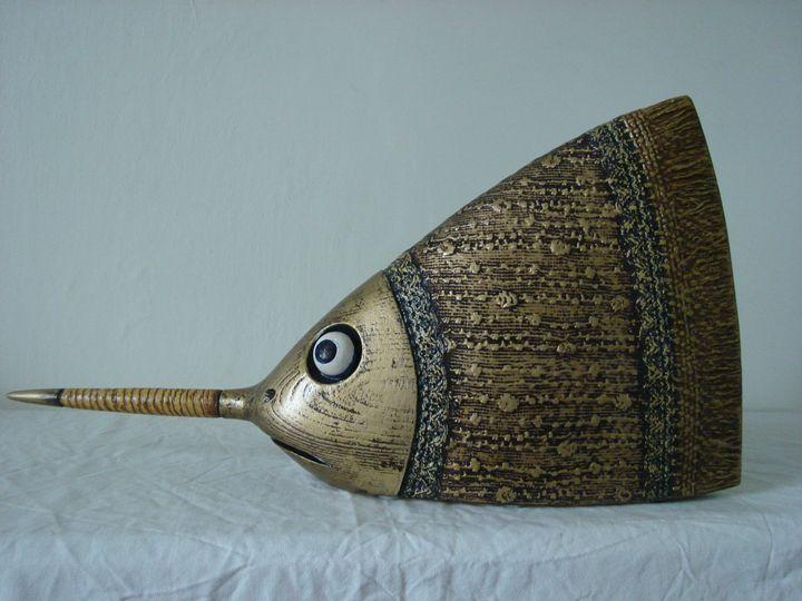 Spear Gold Fish - www.rzezby.netgaleria.pl