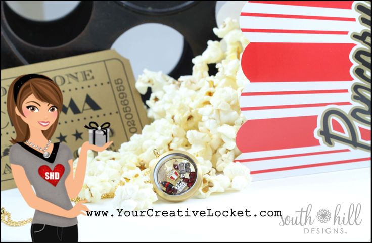 #movielover, #southhilldesigns, #yourcreativelocket