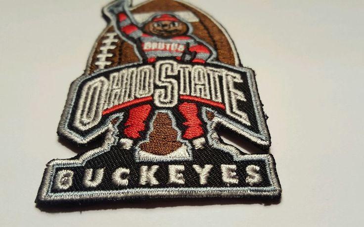 "OSU University of Ohio State Buckeyes BRUTES Embroidered Iron On Patch 3.5""x 2""    Crafts, Sewing, Embelishments & Finishes   eBay!"
