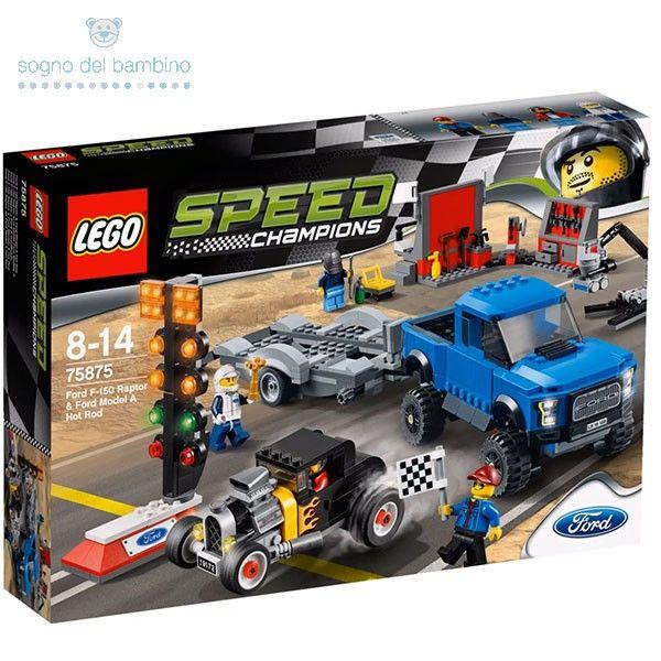 LEGO SPEED CHAMPIONS 75875 Ford F-150 Raptor & Ford Model A Hot Rod #legoesclusivi #legochamions