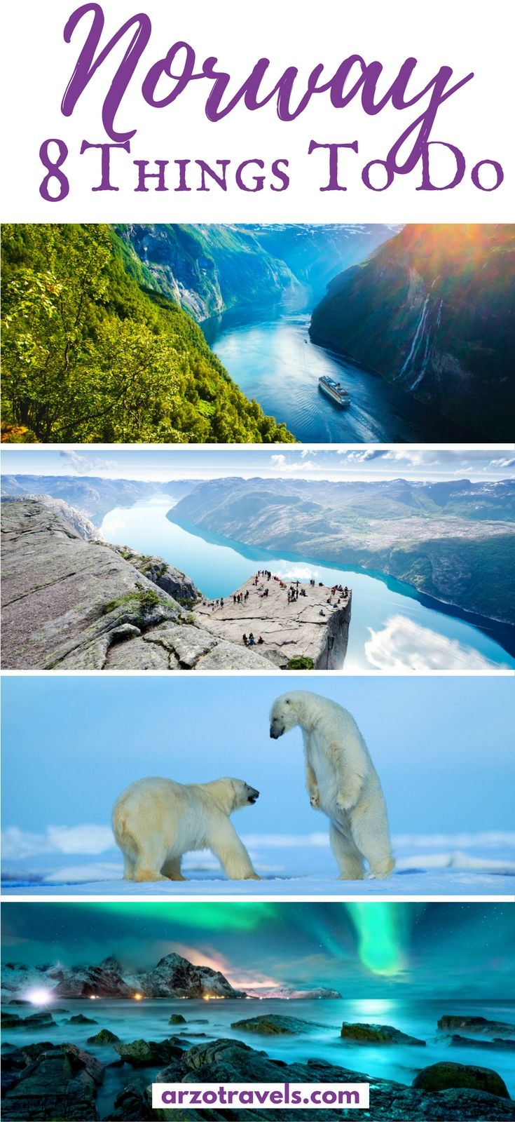 Find out about the best things to do and see in beautiful Norway. From seeing the northern lights to cruising the fjords, here is everything you need to know for things to do in Norway.