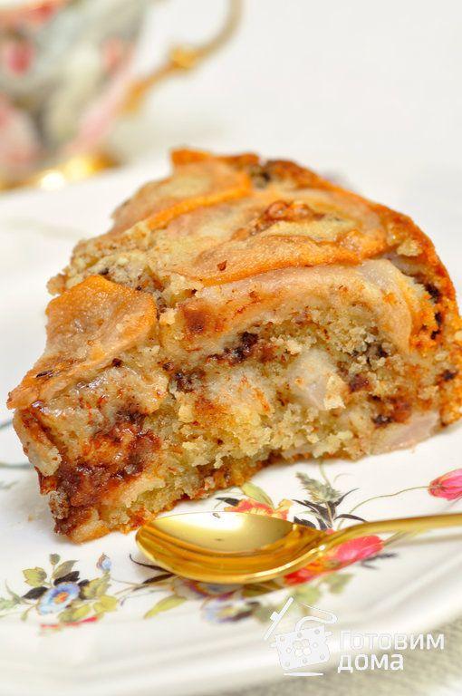Грушевый пирог фото к рецепту 17