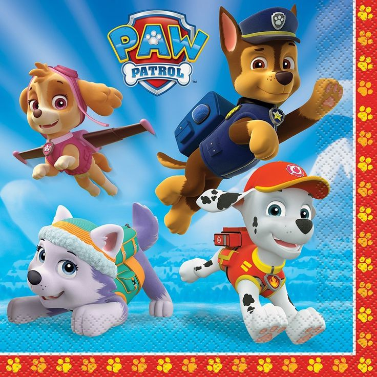PAW Patrol Party Napkins, 16ct, Napkins - Amazon Canada
