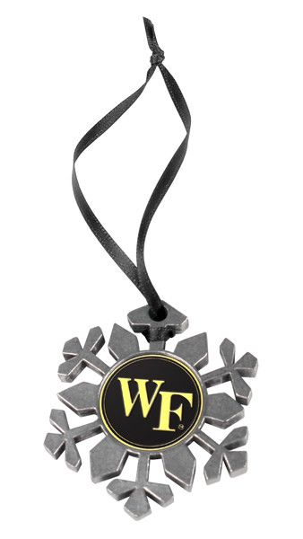 Wake Forest Demon Deacons - Snow Flake Ornament