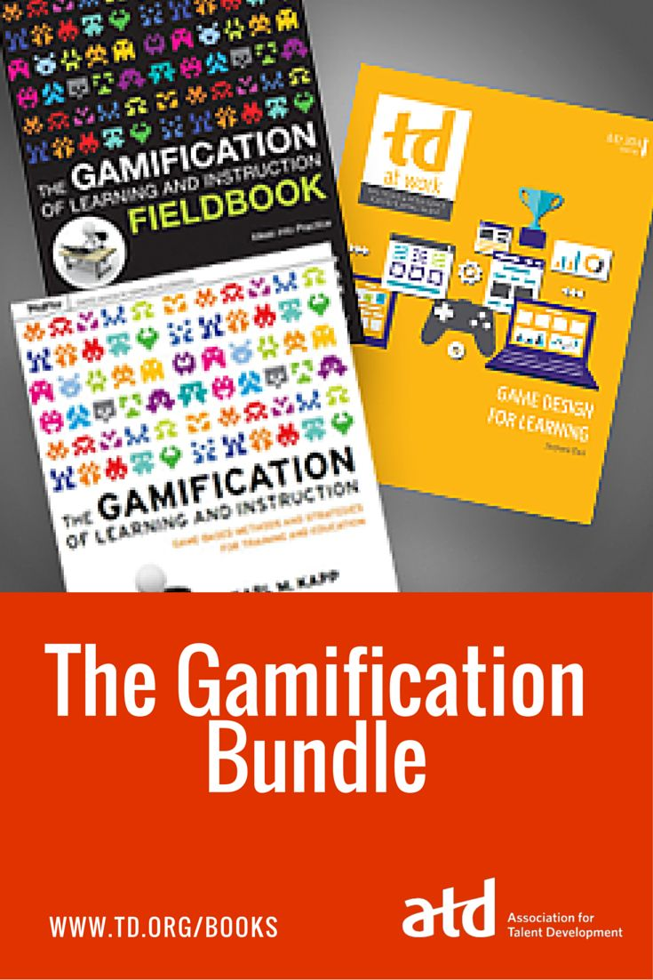 They'll love learning when it's a game! This new ATD bundle feature three of our top gamification resources, each designed to help gamify your learning experience to improve engagement and retention.