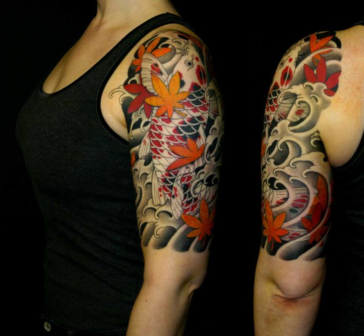 Arm Tattoo Tattoo Arm And Beautiful T: Koi Tattoo Arm - Buscar Con Google