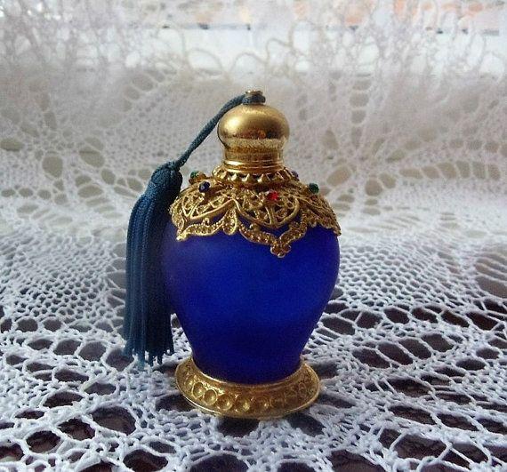Vintage Glass Perfume Bottle.