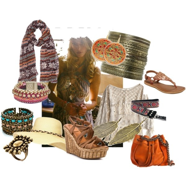 BOHO, created by megmichal7: Style Hippie, Free Style