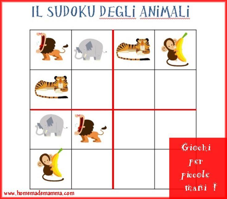 Il sudoku degli animali
