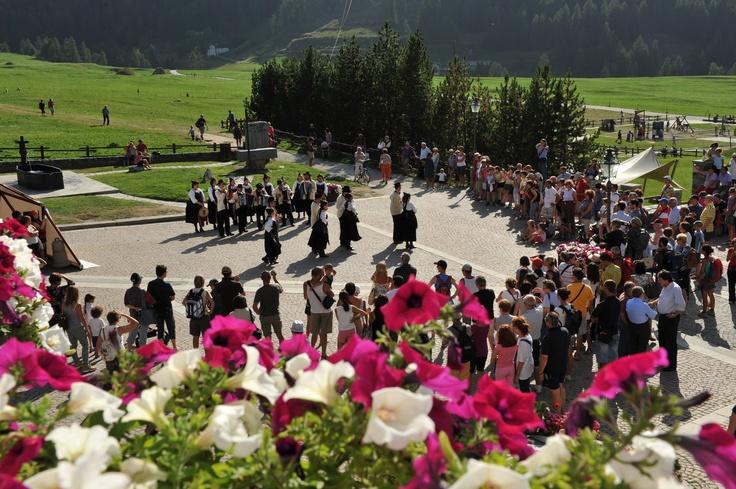 Cerimonia di apertura del XV Trofeo Stambecco d'Oro - 2011