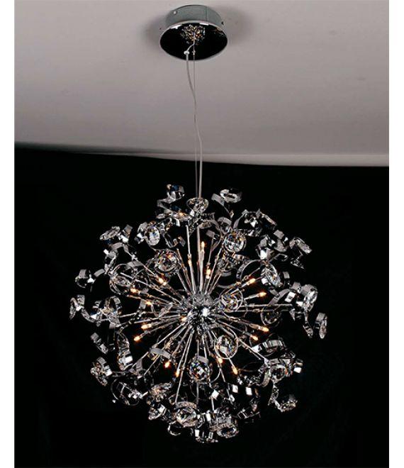 COTTEX ELITE T1506  Cottex T1506 Elite en slank og stilig taklampe i en unik design gir et vakkert lys i rommet.