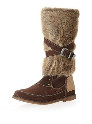 72% OFF Ciao Bimbi Kid's Tall Faux Fur Boot (Brown)